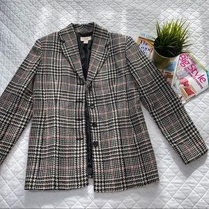 Talbots Vintage Houndstooth Coat
